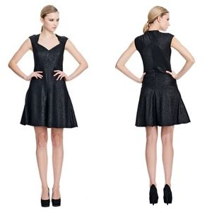 Z Spoke Lara Black Cocktail Dress Size 8